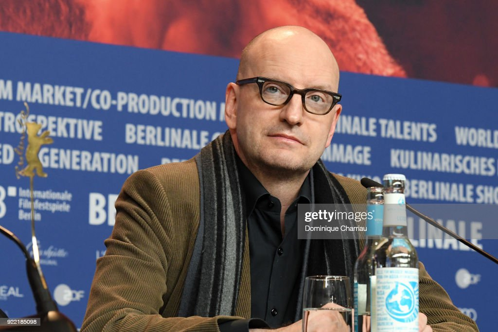 Steven Soderbergh attends the 'Unsane' press conference during the 68th Berlinale International Film Festival Berlin at Grand Hyatt Hotel on February 21, 2018 in Berlin, Germany.