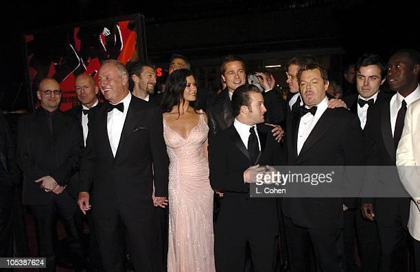 Steven Soderbergh director Bruce Willis Jerry Weintraub producer Vincent Cassel George Clooney Catherine ZetaJones Brad Pitt Scott Caan Matt Damon...