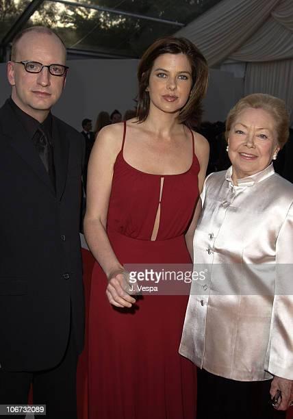 Steven Soderbergh Jules Asner and Dr Mathilde Krim