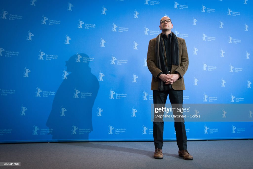 Steven Soderbergh poses at the 'Unsane' photo call during the 68th Berlinale International Film Festival Berlin at Grand Hyatt Hotel on February 21, 2018 in Berlin, Germany.