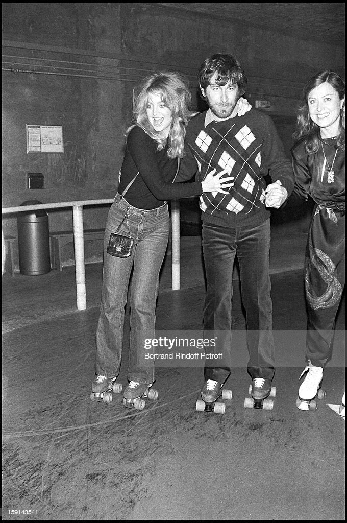 Steven Spielberg Party At La Main Jaune (The Yellow hand) - 1980 : News Photo