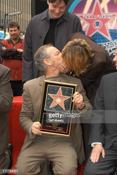 Steven Spielberg and Kate Capshaw during Spielberg Receives Star on Walk of Fame at Hollywood in Hollywood CA United States