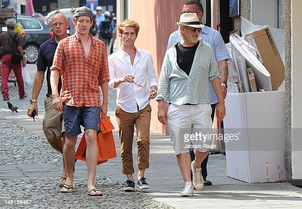 Steven Spielberg and Sawyer Spielberg sighted on July 11 2012 in Portofino Italy