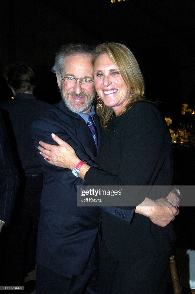 Steven Spielberg and Susan Crown during Shoah Foundation Exclusive Event at Amblin Entertainment on Universal Studios in Universal City, California, United States.