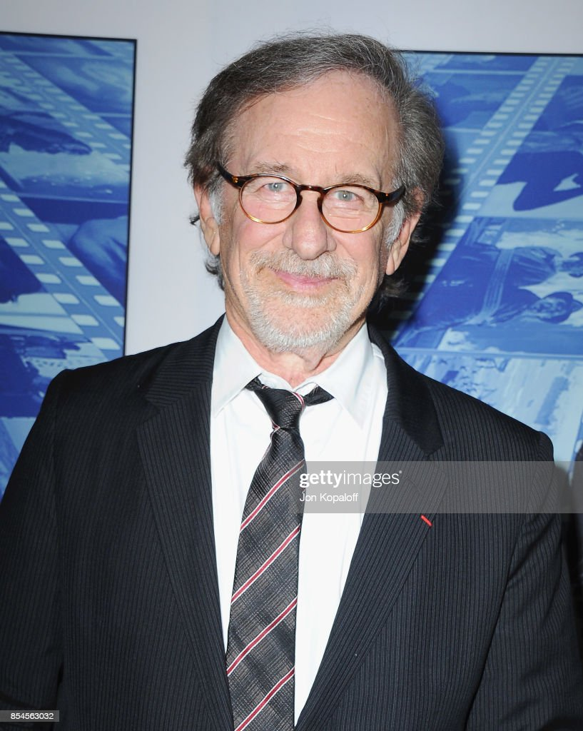 Steven Spielberg arrives at the HBO Premiere 'Spielberg' at Paramount Studios on September 26, 2017 in Hollywood, California.