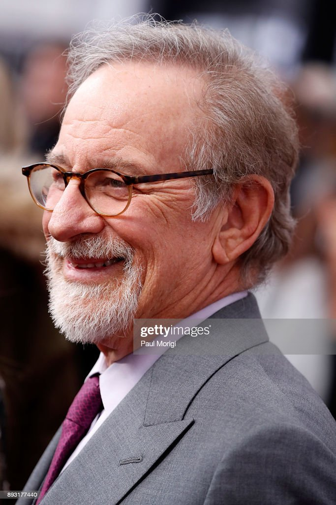 Steven Spielberg arrives at 'The Post' Washington, DC Premiere at The Newseum on December 14, 2017 in Washington, DC.