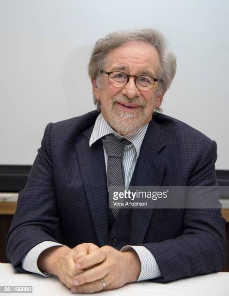 Steven Spielberg at 'The Post' Press Conference at the Four Seasons Hotel on November 27 2017 in Beverly Hills California