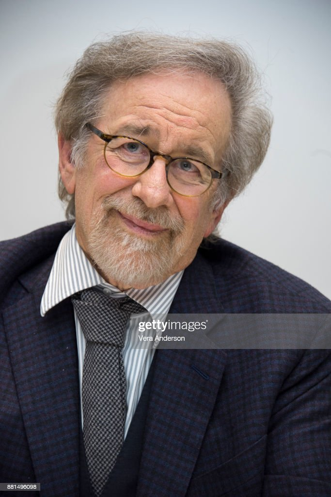 Steven Spielberg at 'The Post' Press Conference at the Four Seasons Hotel on November 27, 2017 in Beverly Hills, California.