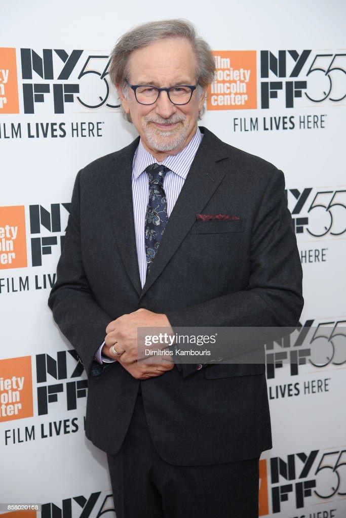 Steven Spielberg Attends 55th New York Film Festival Screening Of