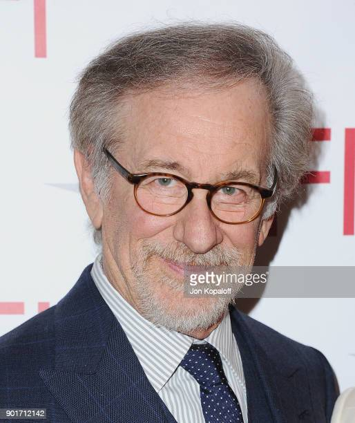 Steven Spielberg attends the 18th Annual AFI Awards at the Four Seasons Hotel on January 5 2018 in Los Angeles California