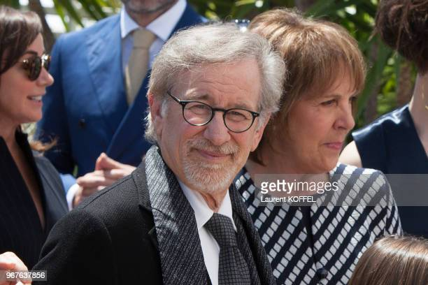 Steven Spielberg attends 'The BFG' photocall during the 69th Annual Cannes Film Festival on May 14 2016 in Cannes France