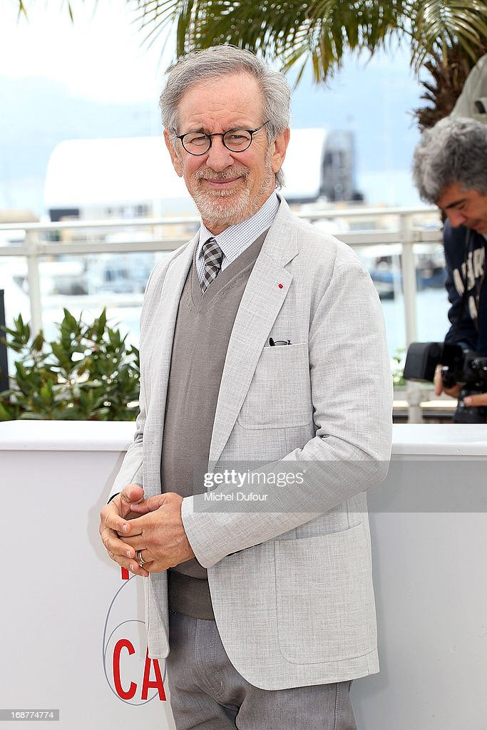 Steven Spielberg attends the Jury Photocall during the 66th Annual Cannes Film Festival on May 15, 2013 in Cannes, France.