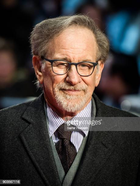 Steven Spielberg attends 'The Post' European Premeire at Odeon Leicester Square on January 10 2018 in London England