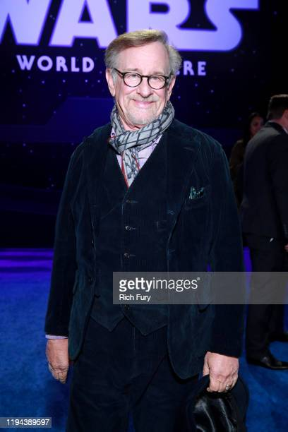 Steven Spielberg attends the Premiere of Disney's Star Wars The Rise Of Skywalker on December 16 2019 in Hollywood California