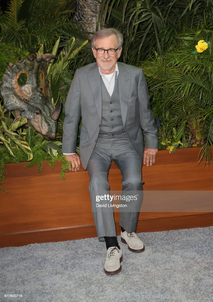 Steven Spielberg attends the premiere of Universal Pictures and Amblin Entertainment's 'Jurassic World: Fallen Kingdom' at Walt Disney Concert Hall on June 12, 2018 in Los Angeles, California.