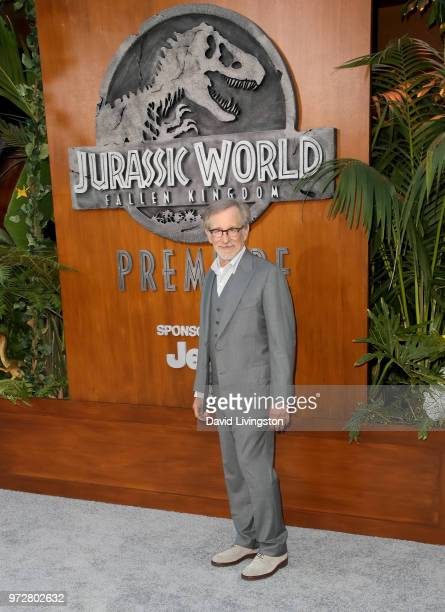 Steven Spielberg attends the premiere of Universal Pictures and Amblin Entertainment's Jurassic World Fallen Kingdom at Walt Disney Concert Hall on...