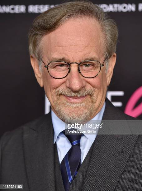Steven Spielberg attends The Women's Cancer Research Fund's An Unforgettable Evening Benefit Gala at the Beverly Wilshire Four Seasons Hotel on...