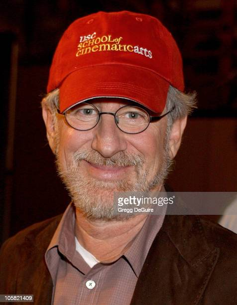 Steven Spielberg during George Lucas' Lucasfilm Foundation Donates $175 Million to Support USC's School of Cinematic Arts at USC School of Cinematic...