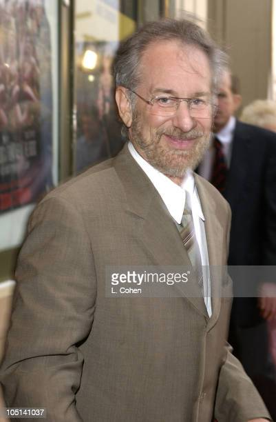 Steven Spielberg during Opening Night of The Producers Red Carpet at Pantages Theatre in Hollywood California United States
