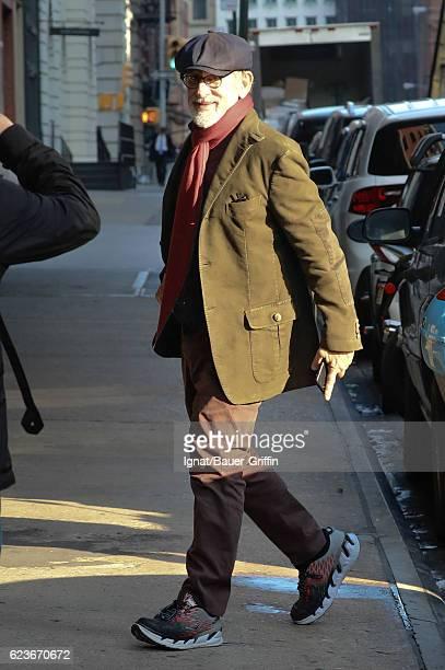 Steven Spielberg is seen on November 16 2016 in New York City