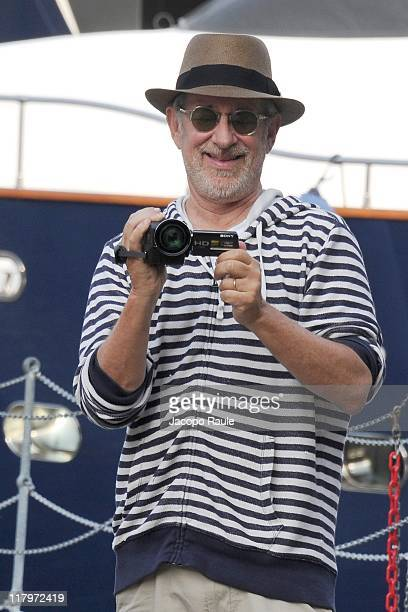 Steven Spielberg is sighted on June 30 2011 in Portofino Italy