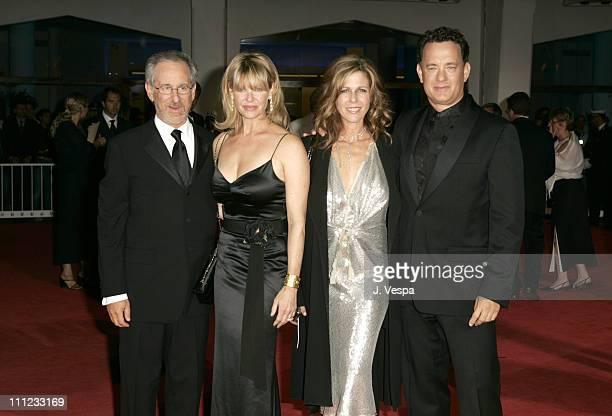 Steven Spielberg Kate Capshaw Rita Wilson and Tom Hanks