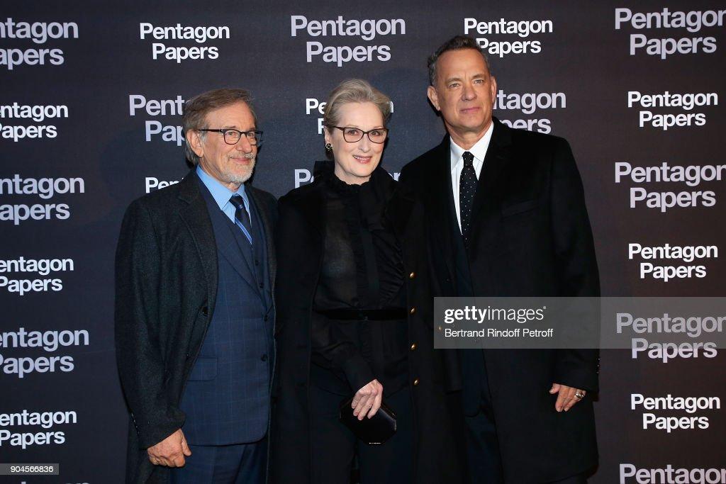 """Pentagon Papers"" Paris Premiere At UGC Normandie"