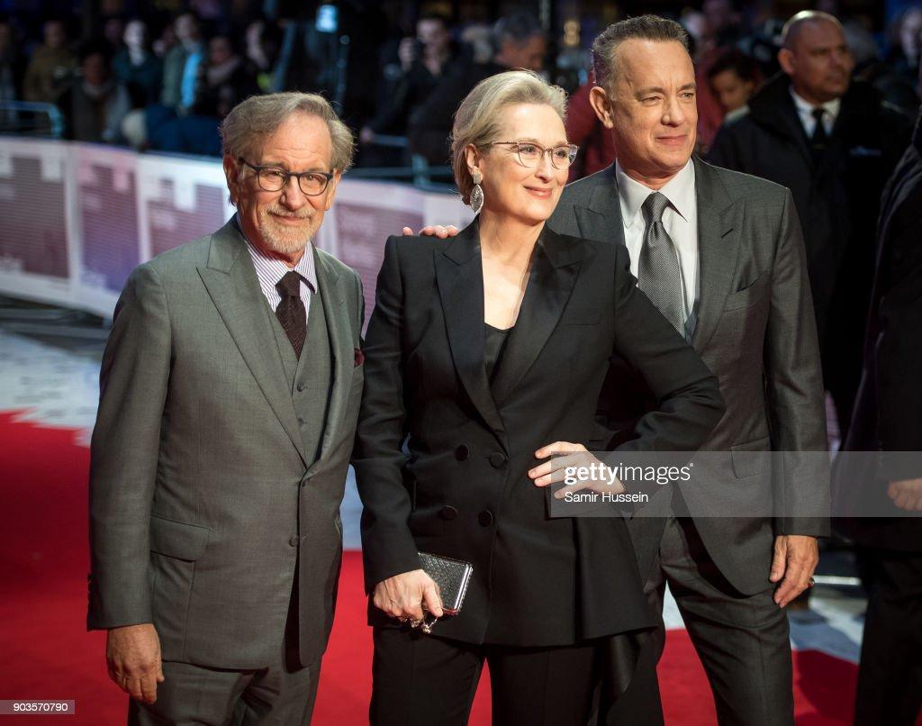 'The Post' European Premiere - Red Carpet Arrivals : News Photo