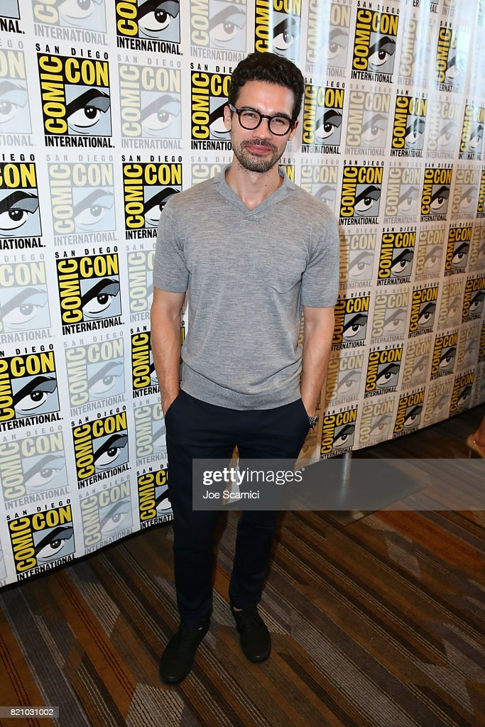 Steven Strait arrives at 'The Expanse' press line at Comic-Con International 2017 on July 22, 2017 in San Diego, California.