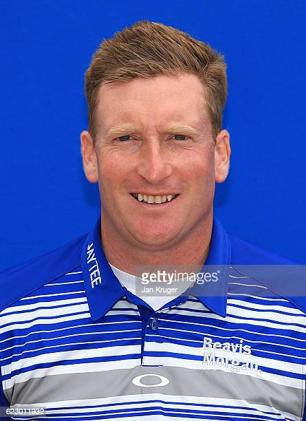 Steven Tiley of England during the second round of the European Tour qualifying school final stage at PGA Catalunya Resort on November 13 2016 in...