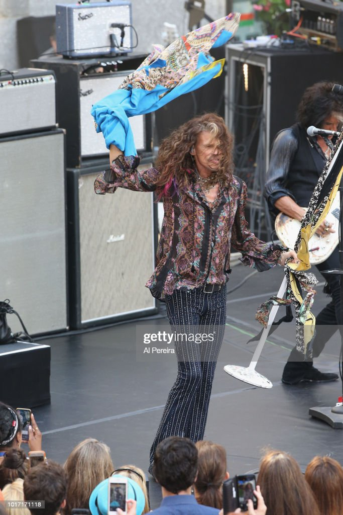 "Aerosmith Performs On NBC's ""Today"""