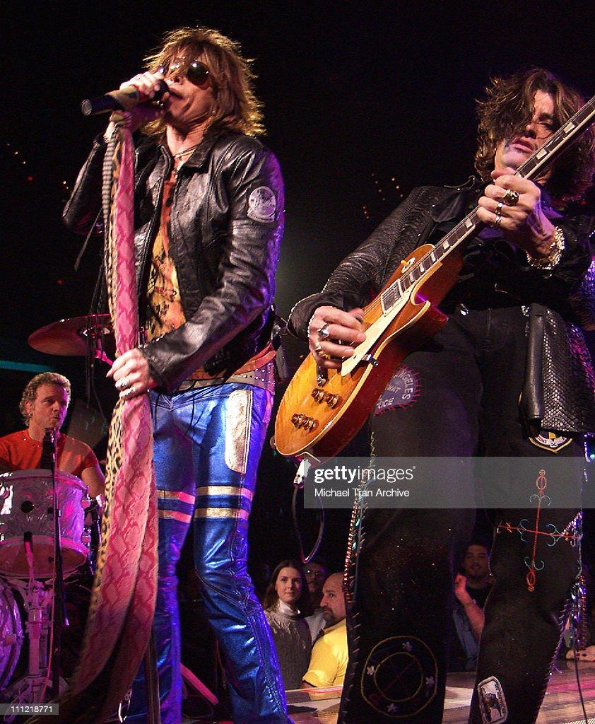Aerosmith in Concert At MCI Center Washington DC - December 21, 2002