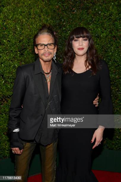 """Steven Tyler and Liv Tyler attend the premiere of 20th Century Fox's """"Ad Astra"""" at The Cinerama Dome on September 18, 2019 in Los Angeles, California."""