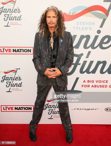 Steven Tyler and Live Nation presents Inaugural Janie's Fund Gala GRAMMY Viewing Party at Red Studios on January 28 2018 in Los Angeles California