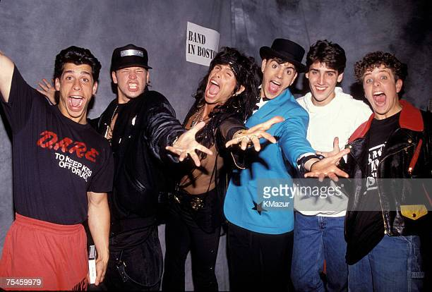 Steven Tyler and New Kids on The Block