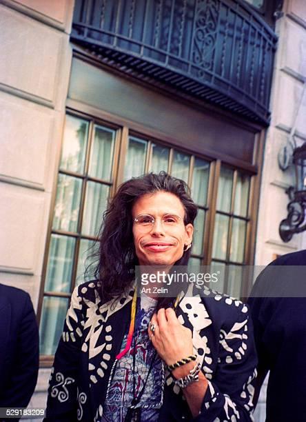 Steven Tyler at the Ritz Carlton circa 1990 New York