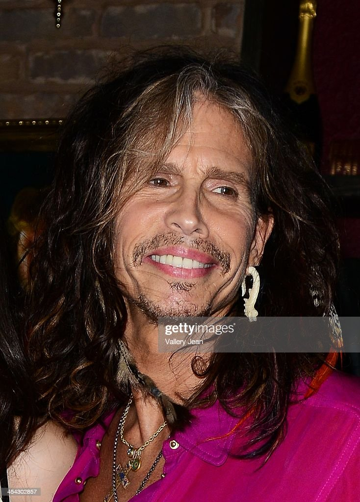 Steven Tyler attend his daughter Chelsea Tyler and her boyfriend Jon Foster performing with her group BadBad on December 7, 2013 in Fort Lauderdale, Florida.