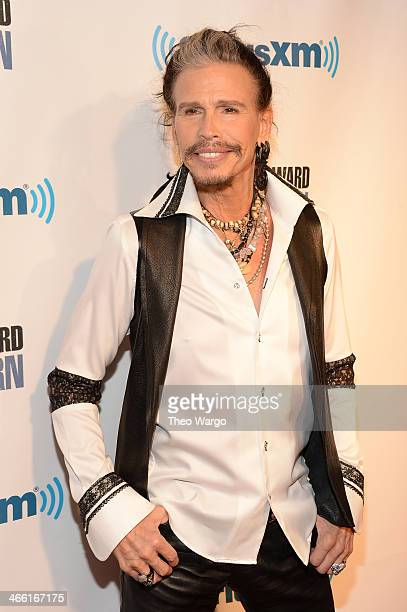 Steven Tyler attends Howard Stern's Birthday Bash presented by SiriusXM produced by Howard Stern Productions at Hammerstein Ballroom on January 31...