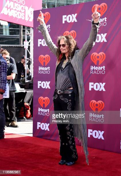 Steven Tyler attends the 2019 iHeartRadio Music Awards which broadcasted live on FOX at Microsoft Theater on March 14, 2019 in Los Angeles,...