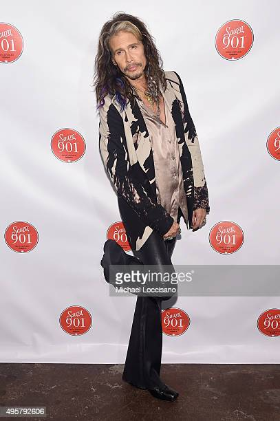 Steven Tyler attends the CMA After Party at Citizen hosted by Justin Timberlake and Sauza 901 Tequila on November 4 2015 in Nashville Tennessee
