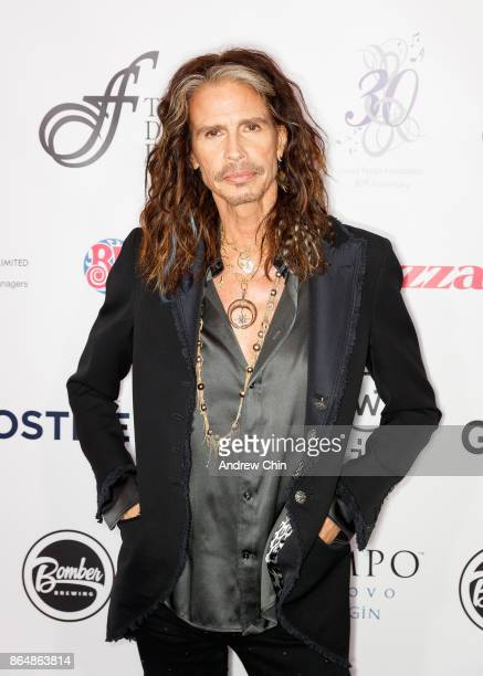Steven Tyler attends the David Foster Foundation Gala at Rogers Arena on October 21 2017 in Vancouver Canada