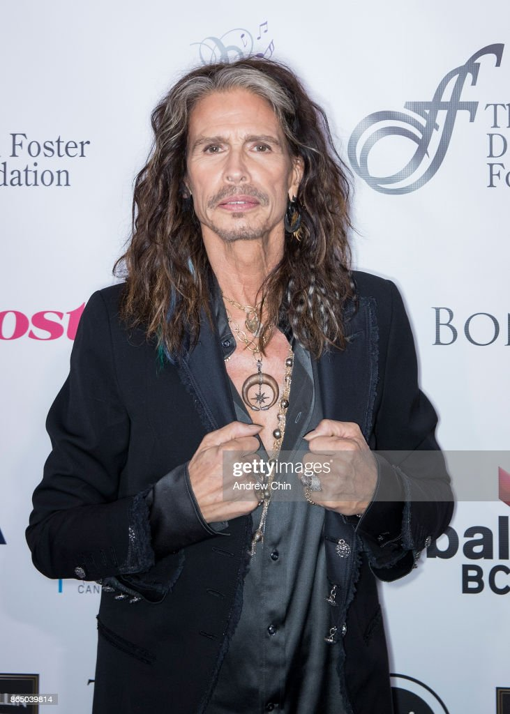 Steven Tyler attends the David Foster Foundation Gala at Rogers Arena on October 21, 2017 in Vancouver, Canada.