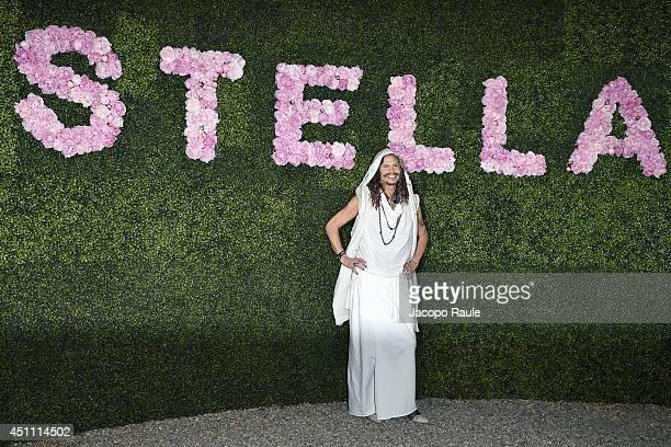 Steven Tyler attends the Stella McCartney Garden Party during the Milan Fashion Week Menswear Spring/Summer 2015 on June 23 2014 in Milan Italy