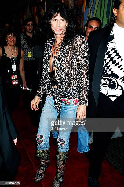 Steven Tyler during 1994 MTV Video Music Awards at Radio City Music Hall in New York City New York United States