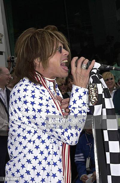 Steven Tyler during 85th Indy 500 at the Indianapolis Motor Speedway at 85th Indy 500 Race at the Indianpolis Motor Speedway in Indianapolis,...
