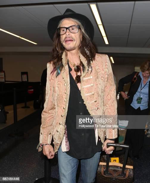 Steven Tyler is seen on May 12 2017 in Los Angeles CA