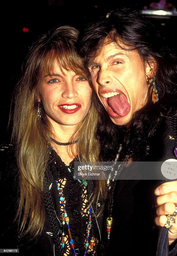 Steven Tyler of Aerosmith at Club USA - 1993 : ニュース写真