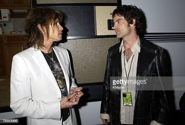 Steven Tyler of Aerosmith and Pat Monahan of Train