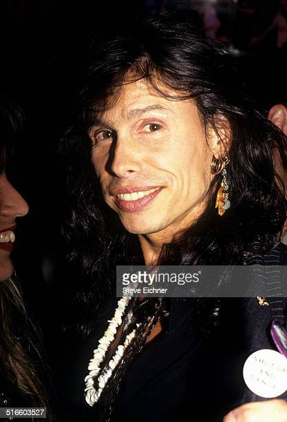 Steven Tyler of Aerosmith celebrates Joan Rivers Gossip Party at Club USA New York April 28 1993