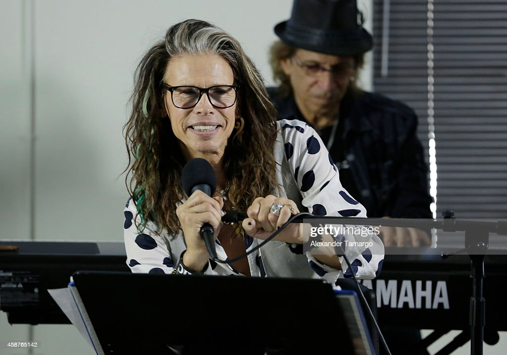 Steven Tyler Guest Speaker At Recovery Unplugged